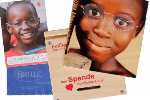 Spende – Die 1-Dollar-Brille